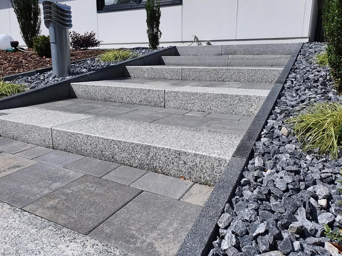 treppe pflastern